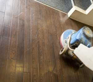 hard wood floor cleaning