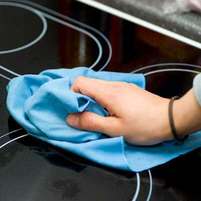 Hob Cleaning