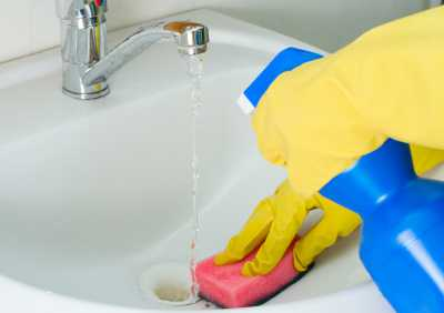 How to clean a sink scott sons Cleaning tips for the home uk