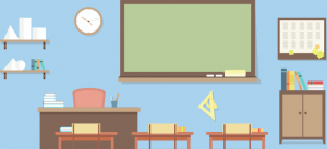 illustration of classroom