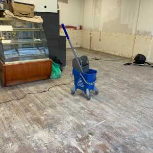 Image Of Deep clean to old flooring – Cycle Cafe